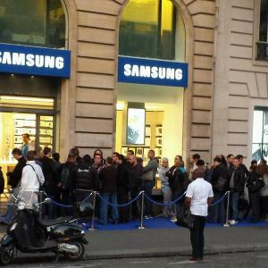 lancement Samsung