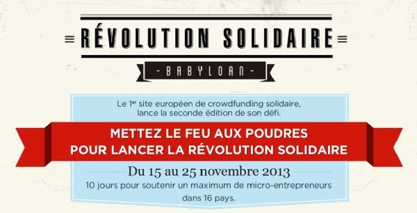 revolution solidiare babyloan
