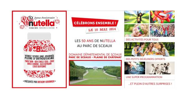 50 ans de Nutella le 18 mai light