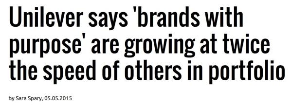 Unilever's quote