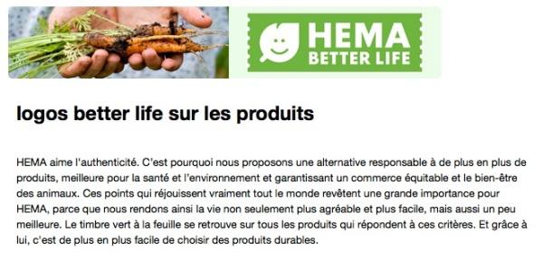 Hema better life