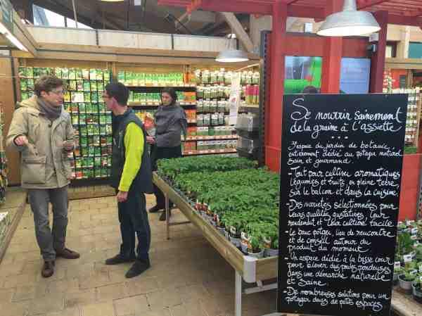 le banc potager botanic