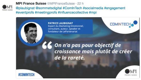 tweet comintech