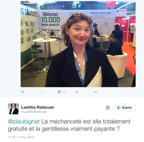 tweet laetitia R