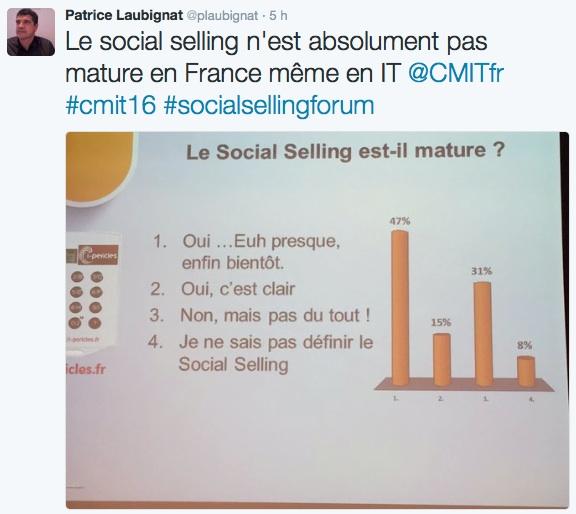 tweet social selling cmit