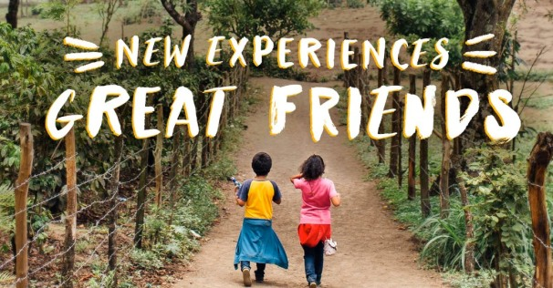 new experiences great friends