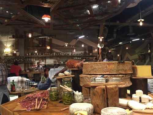 le rural plateaux de fromages