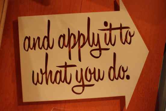 and apply it