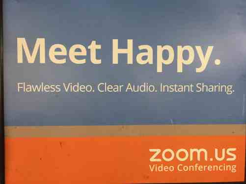 meet happy zoom