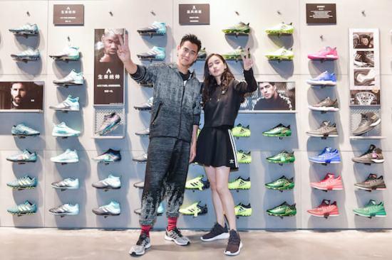 eddie-peng-angelababy-adidas-shanghai-2