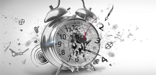 le temps explose