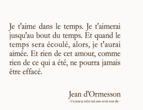 le temsp d'aimer - Jean d'ormesson.png