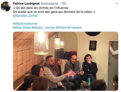 tweet influenceurs 1