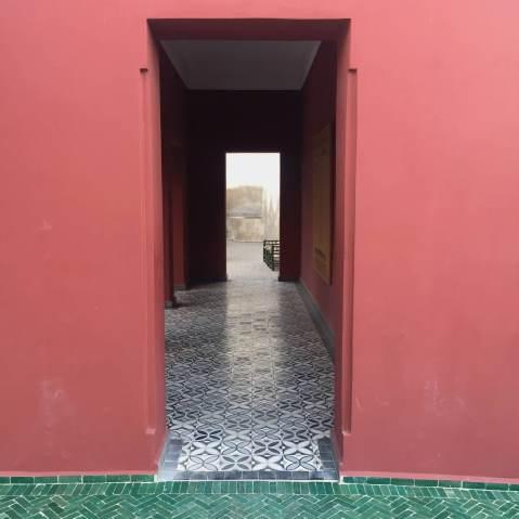 couloir rose